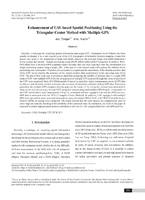 Enhancement of UAV-based Spatial Positioning Using the Triangular Center Method with Multiple GPS